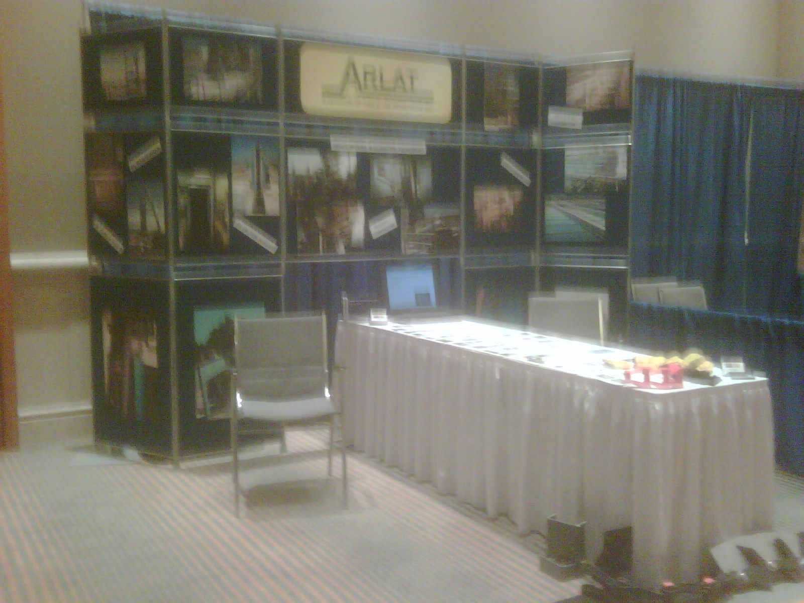 Arlat Technology trade show / event booth